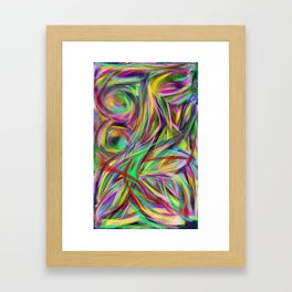 Weekend Drifting Framed Art Print