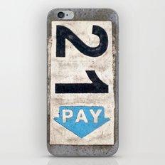 21 Pay iPhone & iPod Skin