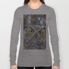 Young Owl at Noon Long Sleeve T-shirt