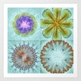 Attitudinal Proportion Flower  ID:16165-113431-66510 Art Print