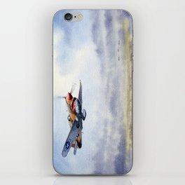 P-40 Warhawk Aircraft iPhone Skin