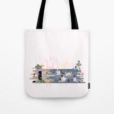 Peek-a-Boob Tote Bag
