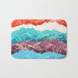 mountain mashup Bath Mat