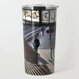 suburban railway station - Berlin Travel Mug