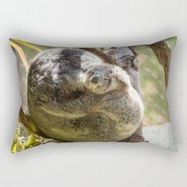 Mama and Baby Koala Bear Rectangular Pillow