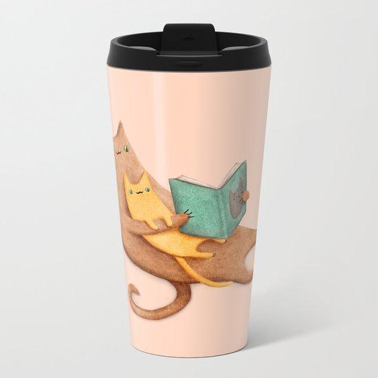 The Cat's Mother Metal Travel Mug