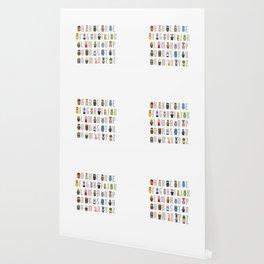 Pixel Muppet Show Alphabet Wallpaper
