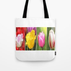 Tulips Flowers Tote Bag