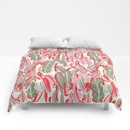 Messed Leaves Comforters