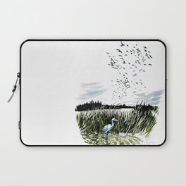 Dream of the Chicago wetlands. Laptop Sleeve