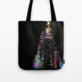 Christmas Abstact Tote Bag