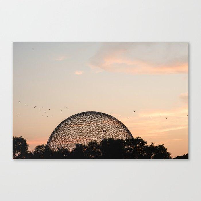 Biosphere Montreal Leinwanddruck
