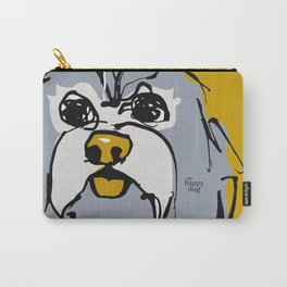Lulz - gray/yellow Carry-All Pouch