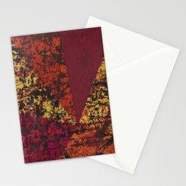 Corner Splatter # 7 Stationery Cards