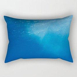 Looking Up at the Ocean Rectangular Pillow