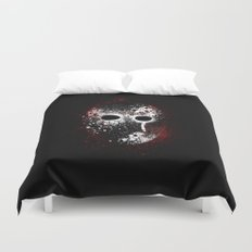 Happy Friday the 13th Duvet Cover