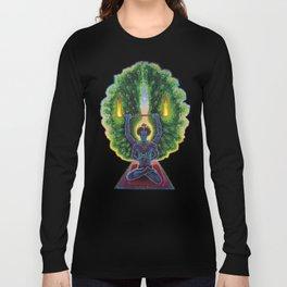 Melek Ta'us (The Peacock Angel) Long Sleeve T-shirt
