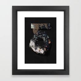 Wynwood Keyhole Collage Framed Art Print