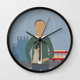 Mr. Rogers Icon Wall Clock