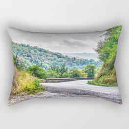 The breath of autumn Rectangular Pillow