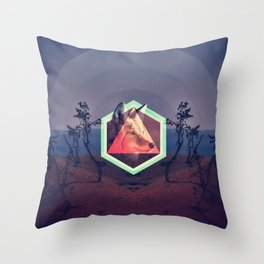 The Trickster Throw Pillow