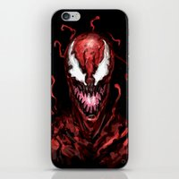 carnage iPhone & iPod Skins featuring Carnage by dariiy