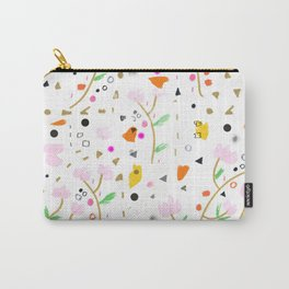 Locura Floral Carry-All Pouch
