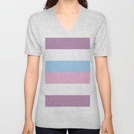 Intersex Pride Unisex V-Neck