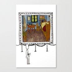 art appreciation Canvas Print