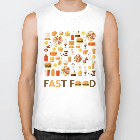 Fast food Biker Tank