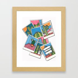 Take a picture, It will last longer Framed Art Print
