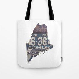 Vintage Maine Tote Bag
