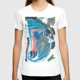 Blue Treasure Watercolor T-shirt
