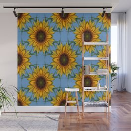 Sunflowers galore... Wall Mural