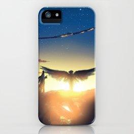 Junkyard Angel iPhone Case