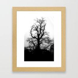 Wicked tree Framed Art Print