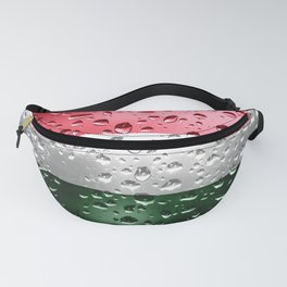 Flag of Hungary - Raindrops Fanny Pack