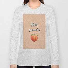 Peachy Long Sleeve T-shirt