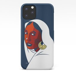 Habouba in Gamar Boba (Girl with a Pearl Earring) iPhone Case