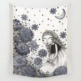 Summer's Night Wall Tapestry