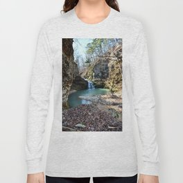 Alone in Secret Hollow with the Caves, Cascades, and Critters, No. 15 of 21 Long Sleeve T-shirt