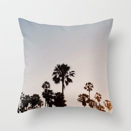 Sunsets in Venice Throw Pillow