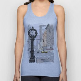 I have visited the city many years ago, I love New York Unisex Tank Top