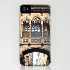 Old Barcelona Slim Case iPhone (4, 4s)
