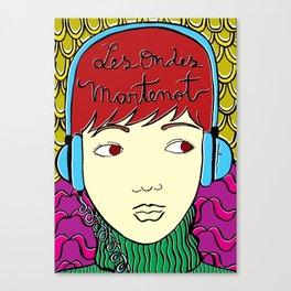 Les Ondes Martenot Canvas Print