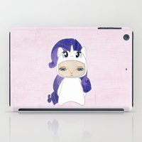 mlp iPad Cases featuring A Boy - Rarity by Christophe Chiozzi