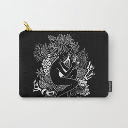 Resting Coral Carry-All Pouch