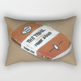 Diddie Doodle the Franz Kafka The Trail a Penguin Classic Rectangular Pillow