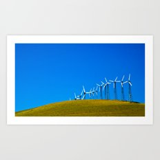 Greener Future Art Print