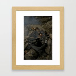 Drying Out Framed Art Print